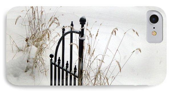Snow Gate IPhone Case