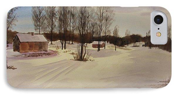 Snow In Solbrinken IPhone Case