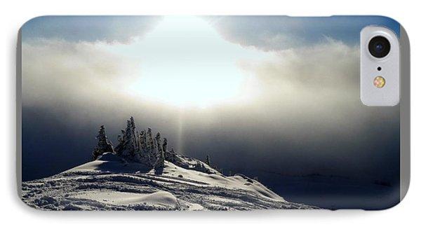 Snowcloud Sunburst IPhone Case