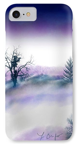Snowstorm In Catskill Ipad Version IPhone Case