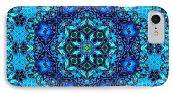 So Blue - 33 - Mandala IPhone Case