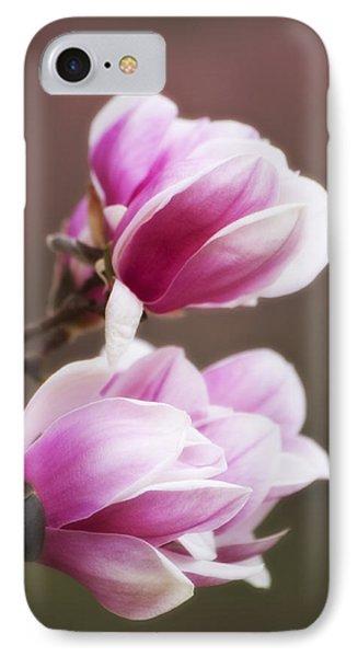 Soft Magnolia Blossoms IPhone Case
