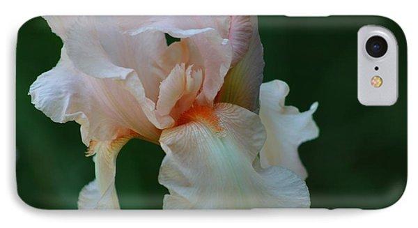 Soft Peach Iris IPhone Case
