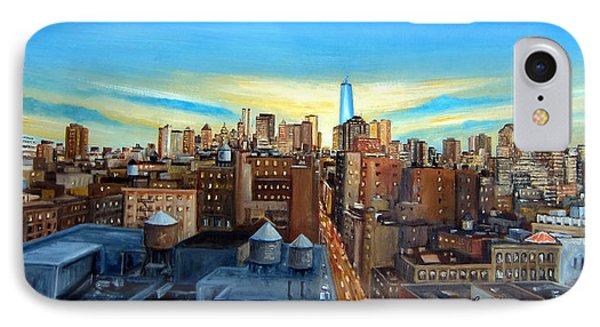 Soho Rooftops IPhone Case