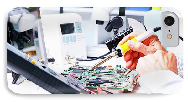 Soldering Equipment And Circuit Board IPhone Case