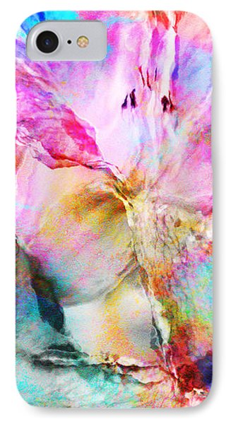 Somebody's Smiling - Abstract Art IPhone Case