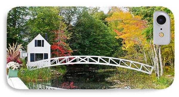 Somesville Bridge In Autumn IPhone Case