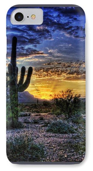 Sonoran Sunrise  IPhone Case