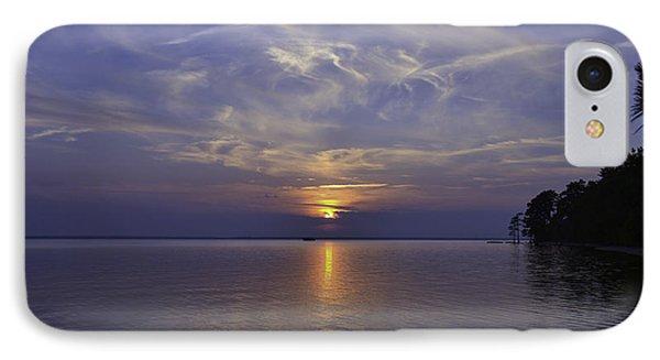 Soundside Sunset IPhone Case