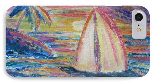 South Seas Sunset IPhone Case