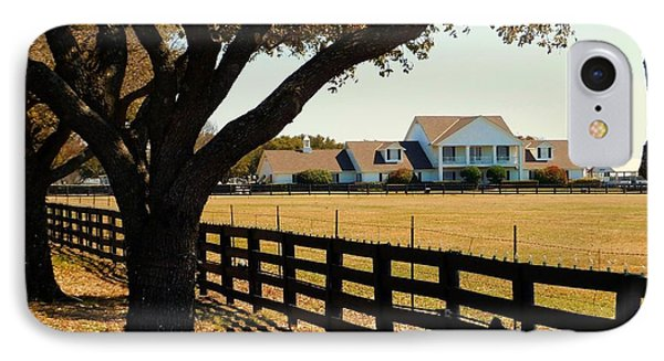 Southfork Ranch - Across The Pasture IPhone Case