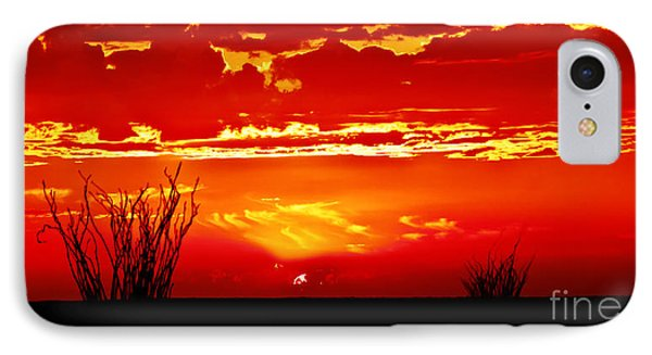 Southwest Sunset IPhone Case