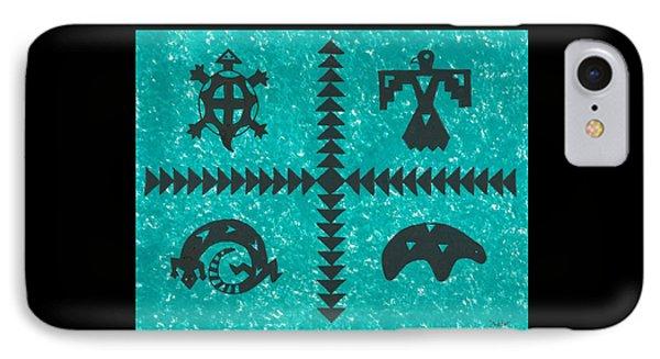 Southwest Symbols IPhone Case