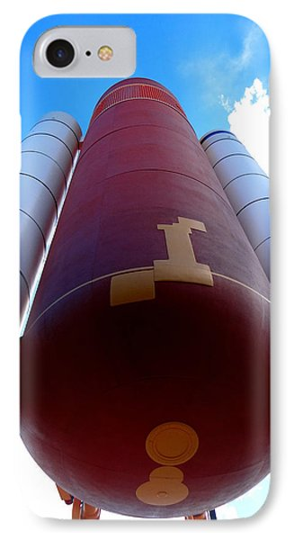 Space Shuttle Fuel Tank And Boosters IPhone Case