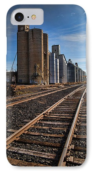 Spangle Grain Elevator Color IPhone Case