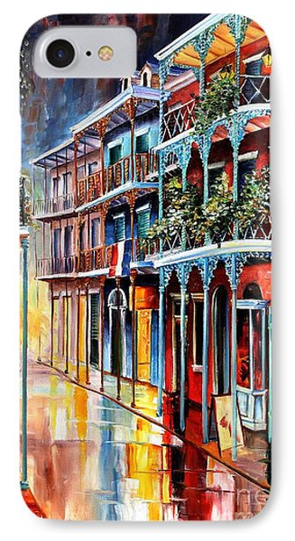 d6a4cf189dc French Quarter iPhone 8 Case - Sparkling French Quarter by Diane Millsap