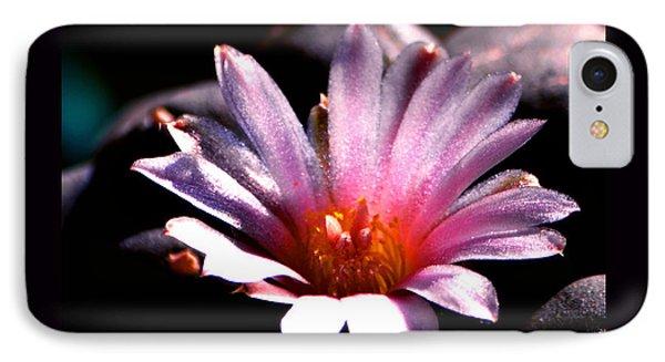 Sparkling Peyote Flower IPhone Case