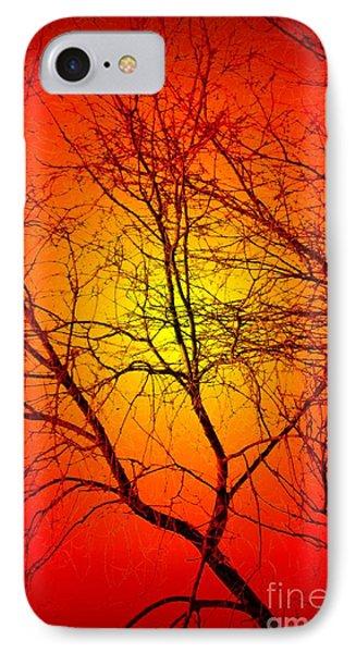 Spectral Sunrise IPhone Case