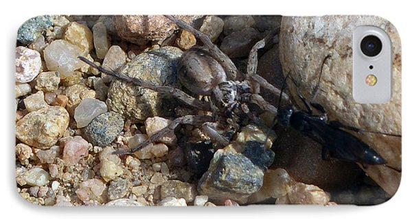 Spider Lost The Battle 2 IPhone Case