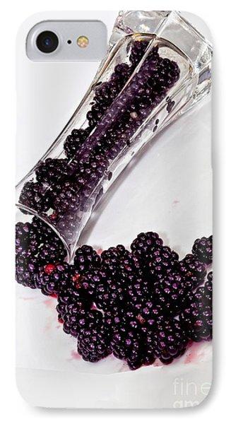 Spilt Blackberries IPhone Case