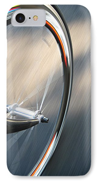 Bicycle iPhone 8 Case - Spin by Jeff Klingler
