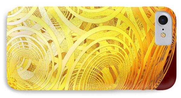 Spiral Sun By Jammer IPhone Case