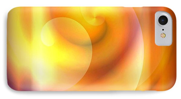 Spiraled Square Abstract IPhone Case