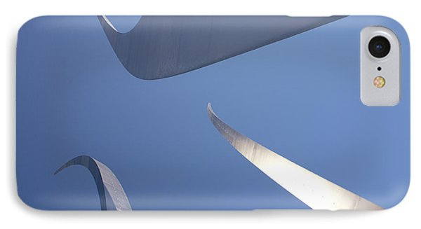 Spires Of The Air Force Memorial In Arlington Virginia IPhone Case