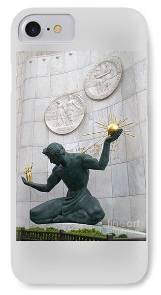 Spirit Of Detroit Monument IPhone Case