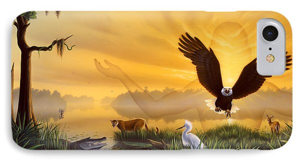 Spirit Of The Everglades IPhone Case