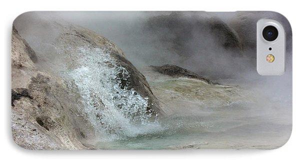 Splash From Grotto Geyser IPhone Case