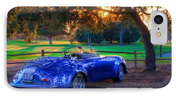 Sports Car Golf Course Sunset IPhone Case
