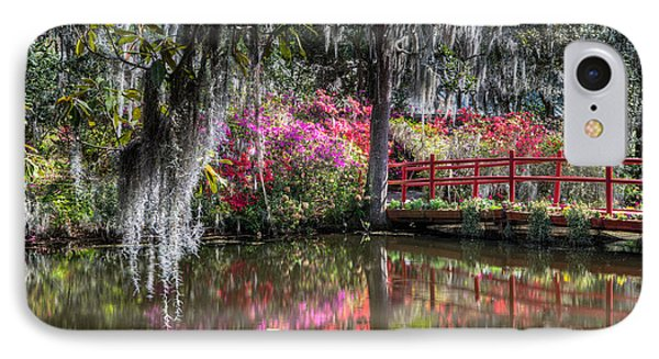 Spring At Magnolia Plantation 1 IPhone Case
