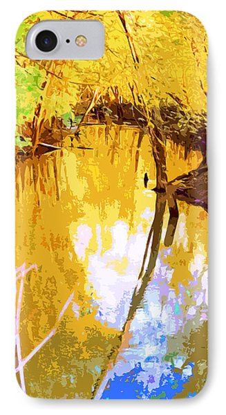 Spring In The Woods IPhone Case
