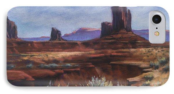 Spring Sage Monument Valley Az IPhone Case