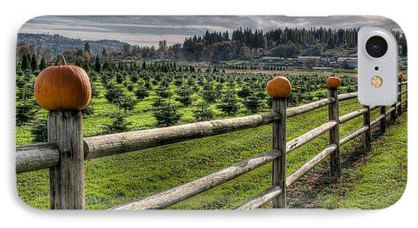 Springhetti Road Pumpkins IPhone Case