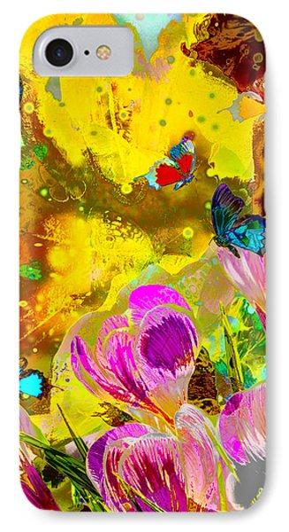 Springtime Splash IPhone Case