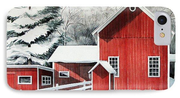 Springwater Barns IPhone Case