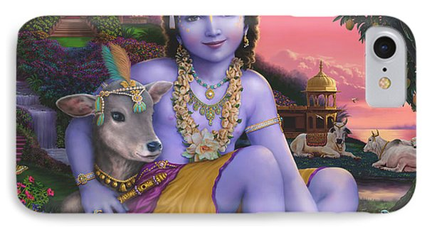 Sri Krishnachandra IPhone Case