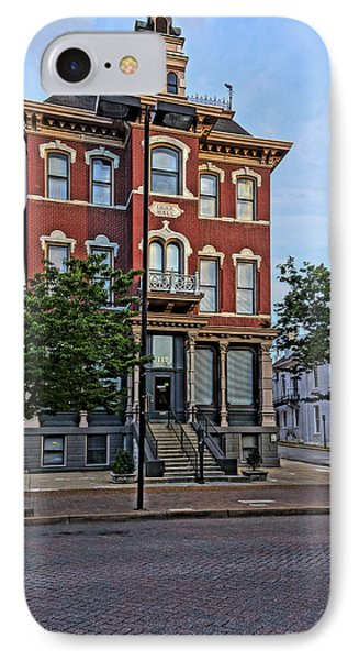 St. Charles Odd Fellows Hall Built In 1878 Dsc00810  IPhone Case