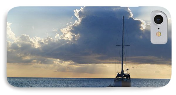St. Lucia - Cruise - Sailboat IPhone Case