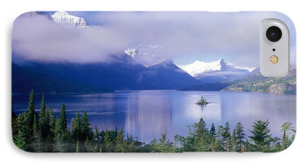 St Mary Lake, Glacier National Park IPhone Case