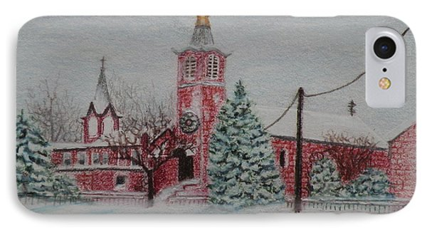 St. Nicholas Church Roebling New Jersey IPhone Case