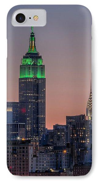 St Patrick's Day Postcard IPhone Case
