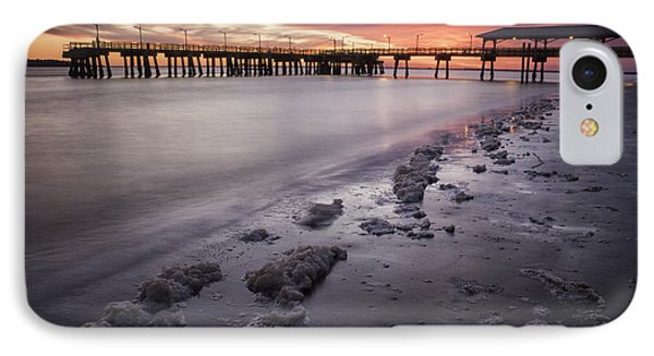 St. Simons Pier At Sunset IPhone Case