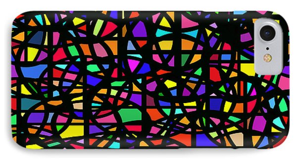 Stained Glass Abstract IPhone Case
