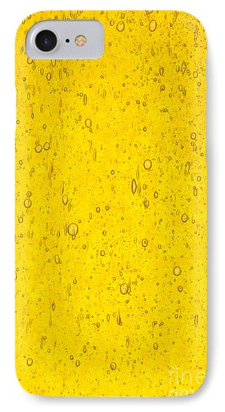Stained Glass Abstract Yellow IPhone Case