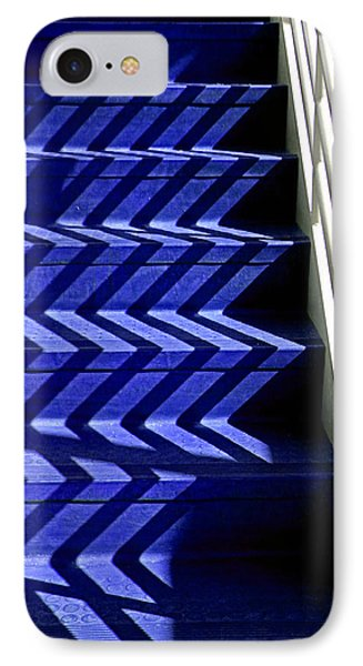 Stairs Of Blue IPhone Case