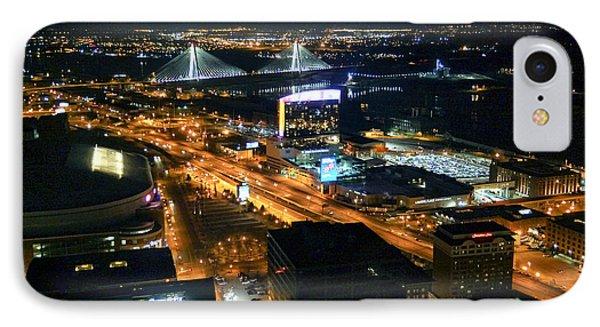 Stan Musial Bridge In St Louis Mo Dsc03215 IPhone Case