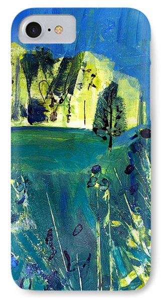 Stand Of Trees In Distance IPhone Case